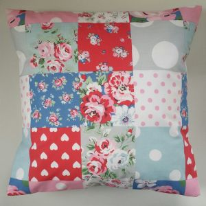 "Cushion Cover in Cath Kidston Patchwork 14"" - 20"""